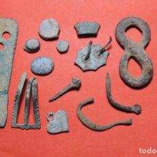 Antigüedades: LOTE ARQUEOLOGIA VARIADO ( 14 ELEMENTOS ). Lote 99512179