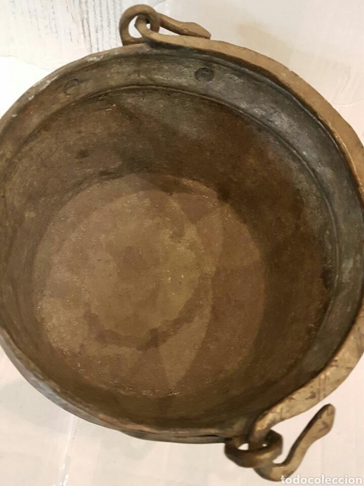 Antigüedades: Recipiente de cobre S.XIX - Foto 4 - 99518476
