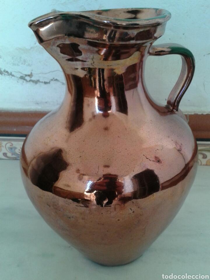 GRAN JARRA REFLEJO DE TRIANA (Antigüedades - Porcelanas y Cerámicas - Triana)