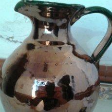 Antigüedades: ANTIGUA JARRA DE CERAMICA DE REFLEJOS FABRICADO TRIANA. Lote 99526676