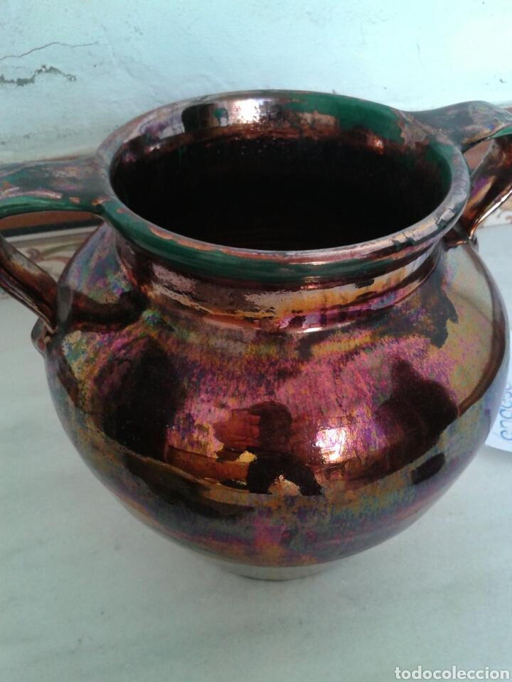 Antigüedades: ANTIGUA ORZA EN CERAMICA DE TRIANA - Foto 2 - 99527367