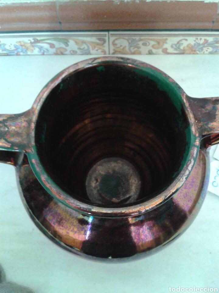 Antigüedades: ANTIGUA ORZA EN CERAMICA DE TRIANA - Foto 4 - 99527367