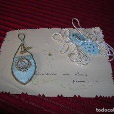 Antigüedades: DOS ANTIGUOS PROTECTORES INFANTILES MUY BONITOS.. Lote 99533243