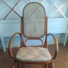 Antigüedades: MECEDORA TIPO THONET, RESTAURADA. Lote 99533787