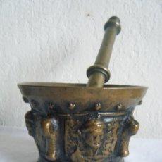 Antigüedades: MORTERO DE BRONCE ANTIGUO. SIGLOS XV-XVI. . Lote 99536827