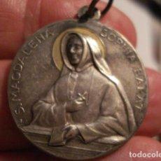 Antigüedades: PRECIOSA MEDALLA RELIGIOSA DE SANTA MAGDALENA SOPHIA BARAT - SIGLO XX - MIRA OTRAS EN VENTA. Lote 99555207