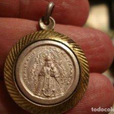 Antigüedades: PRECIOSA MEDALLA VIRGEN DE MONTEMAYOR - MOGUER HUELVA - SIGLO XX - MIRA OTRAS EN VENTA. Lote 99555839