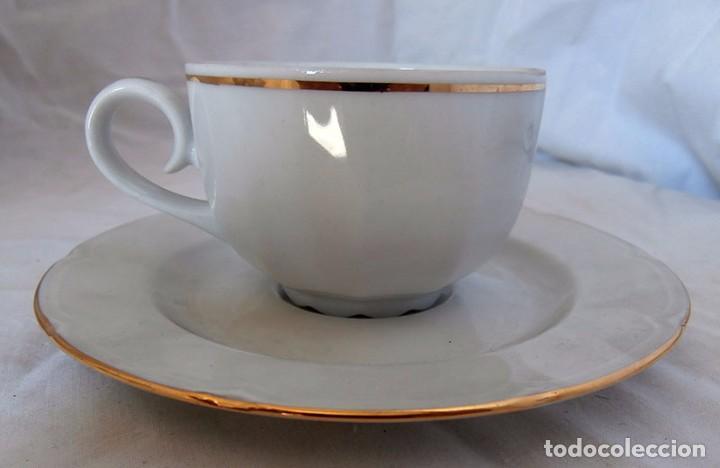 Antigüedades: JUEGO CAFÉ 12 SERVICIOS CERÁMICA SANTA CLARA - Foto 9 - 99556115