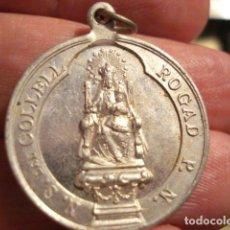 Antigüedades: BONITA MEDALLA DE LA VIRGEN DEL COLLELL FERRIOL GIRONA - SIGLO XX - MIRA OTRAS EN VENTA. Lote 99556531