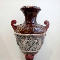Antigüedades: GRAN JARRÓN CRATERA MODERNISTA, CERÁMICA CLASICISTA, GRECOLATINO, ART DECO, ART NOUVEAU. Lote 99661171