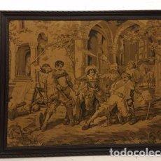 Antigüedades: TAPIZ FIRMADO POR D'APRÉS C.DETTI.. Lote 99671687