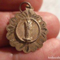 Antigüedades: MEDALLA RELIGIOSA EN PLATA - SAN JOSE DE LA MONTAÑA BARCELONA - SIGLO XIX - MIRA OTRAS EN VENTA. Lote 99695963