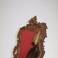 Antigüedades: ESPEJO ANTIGUO DE SOBREMESA, ESTILO LUIS XV. Lote 99722799