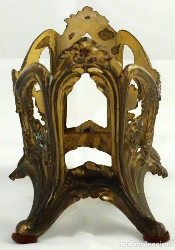 Antigüedades: BONITO CENTO O JARDINERA MODERNISTA EN METAL. CIRCA 1910 - Foto 3 - 99745111