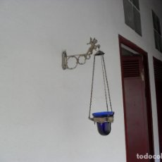 Antigüedades: BONITA LAMPARILLA,VELON ACEITE AÑOS 20. Lote 99750887