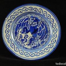 Antigüedades: PLATO CERÁMICA S.XX .. Lote 99751547