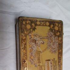 Antigüedades: CAJA GRANDE DE CHAPA ANTIGUA. Lote 99788348