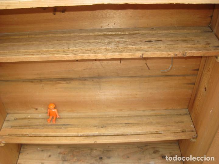 Antigüedades: ESPECIAL MUEBLE VERSATIL ANTIGUO IDEAL VITRINA ESTANTERIA ALACENA COCINAS HERRAMIENTAS INDUSTRIAL - Foto 9 - 99789135