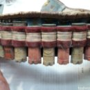 Antigüedades: CANANA ANTIGUA CON CARTUCHOS INERTES AÑOS 50. Lote 99790154