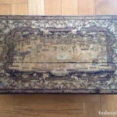 Antigüedades: ESCRIBANÍA THAILANDESA ANTIGUA. Lote 99851923