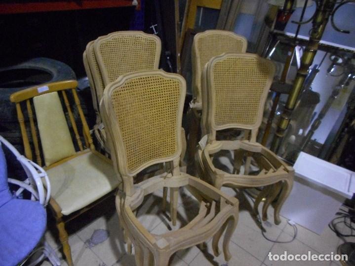 Magnifico conjunto de 12 sillas salida de ebani comprar sillas antiguas en todocoleccion - Recogida muebles barcelona ...