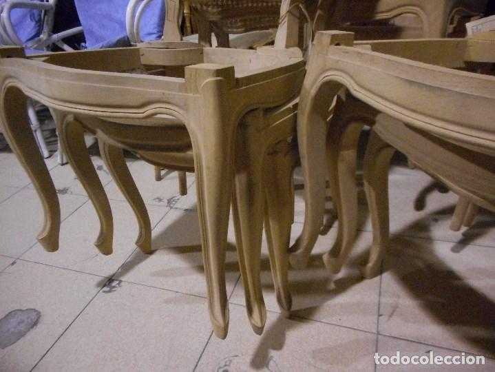 Recogida De Muebles Barcelona : Magnifico conjunto de sillas salida ebani vendido