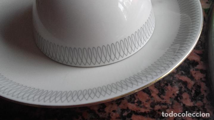 Antigüedades: Espectacular vajilla de 125 piezas de porcelana marca eschenbach bavaria-germany 1920 . - Foto 19 - 45203644