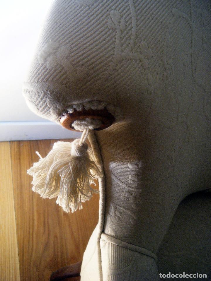 Antigüedades: Pareja de Butacas, sillones, descalzadoras isabelinas - Foto 4 - 99904307