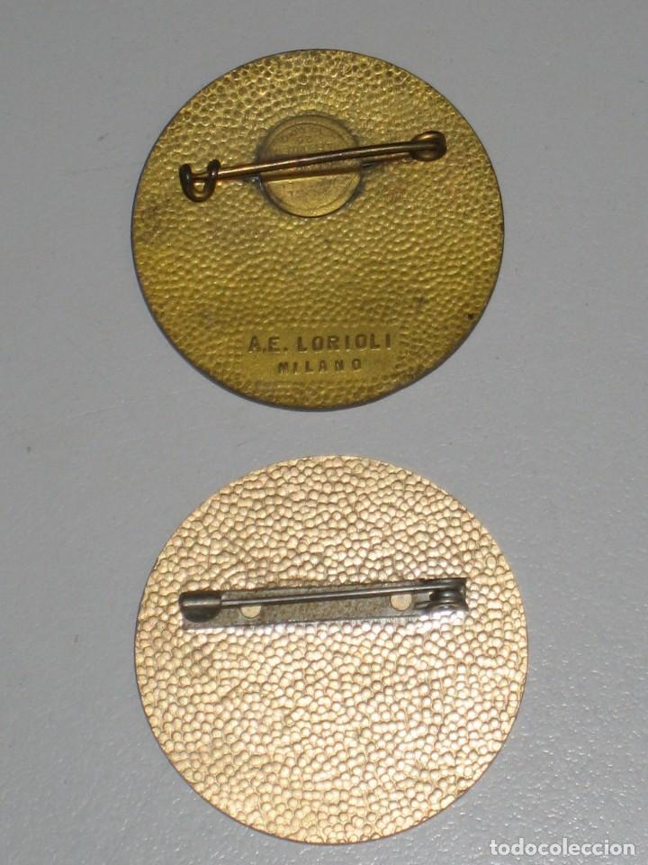 Antigüedades: LOTE MEDALLAS INSIGNIAS CHAPAS ITALIA PEREGRINACIÓN LOURDES - Foto 11 - 99910111