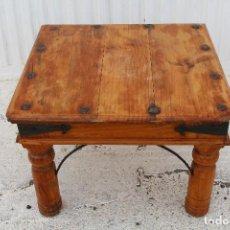Antiquitäten - mesa baja rustica en madera de pino - 99913859
