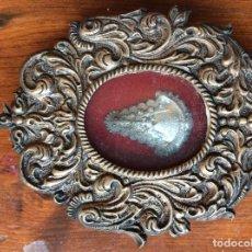 Antigüedades: ANTIGUO CUADRO VIRGEN EN PLATA. Lote 99953859