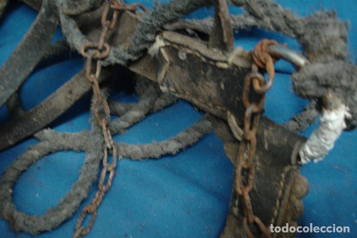 Antigüedades: -ANTIGUA CABEZANA, CABEZADA, CABEZAL DE CABALLERÍA CON CUERDA Y CADENA - ETNOLÓGICO - Foto 3 - 99998395