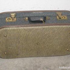 Antigüedades: MALETA ANTIGUA - TESA PATENT.. Lote 100032239