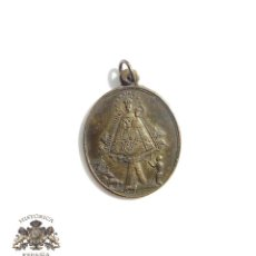 Antigüedades: MEDALLA NUESTRA SEÑORA DE CORTES PATRONA DE ALCARAZ - 3,2 CM DE ALTO. Lote 100063247