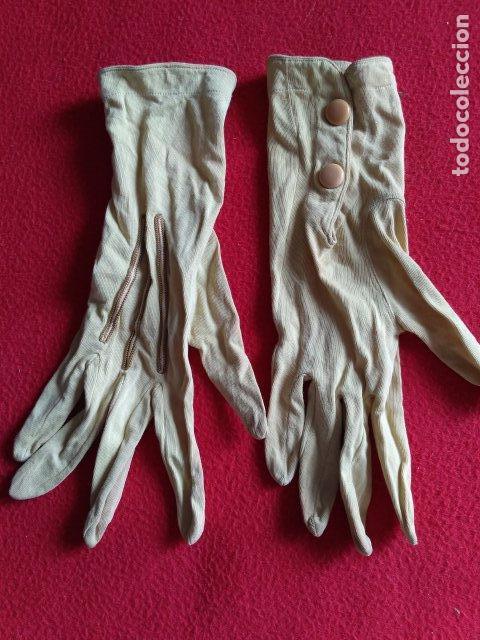 ANTIGUOS GUANTES (Antigüedades - Moda y Complementos - Mujer)