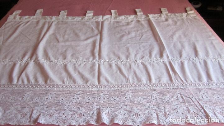 Cortina con puntillas comprar cortinas antiguas en - Puntillas para cortinas ...