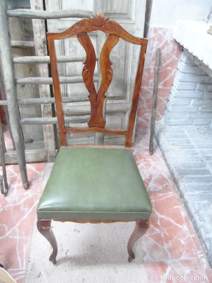 4 sillas originales de los a os 60 comprar sillas - Sillas anos 60 ...