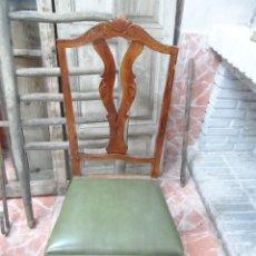 Antigüedades: 4 SILLAS ORIGINALES DE LOS AÑOS 60. Lote 100162147