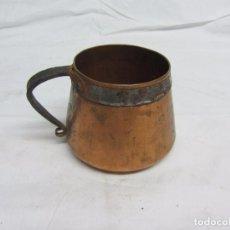 Antigüedades: PEQUEÑA MEDIDA EN COBRE BATIDO. Lote 100170555