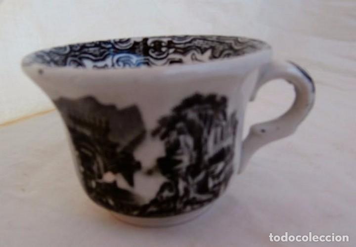 Antigüedades: JUEGO DE TAZAS CERÁMICA LA CARTUJA - Foto 3 - 232447045