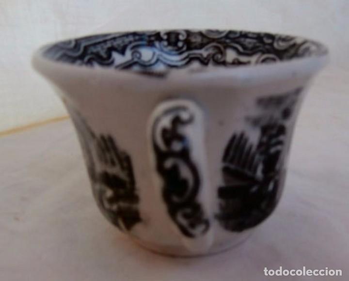 Antigüedades: JUEGO DE TAZAS CERÁMICA LA CARTUJA - Foto 4 - 232447045