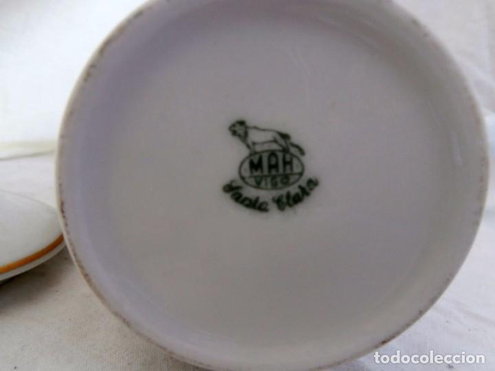 Antigüedades: JUEGO PORCELANA SANTA CLARA DE 6 SERVICIOS - Foto 7 - 100187735