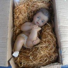 Antigüedades: NIÑO JESÚS ARTE MODELO DE OLOT EN CAJA ORIGINAL.. Lote 100191495