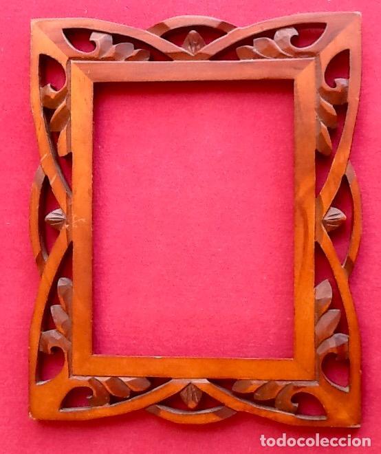 precioso marco de madera.envio certificado incl - Comprar ...