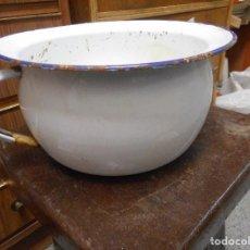 Antigüedades: ORINAL METALICO ESMALTADO. Lote 100237471