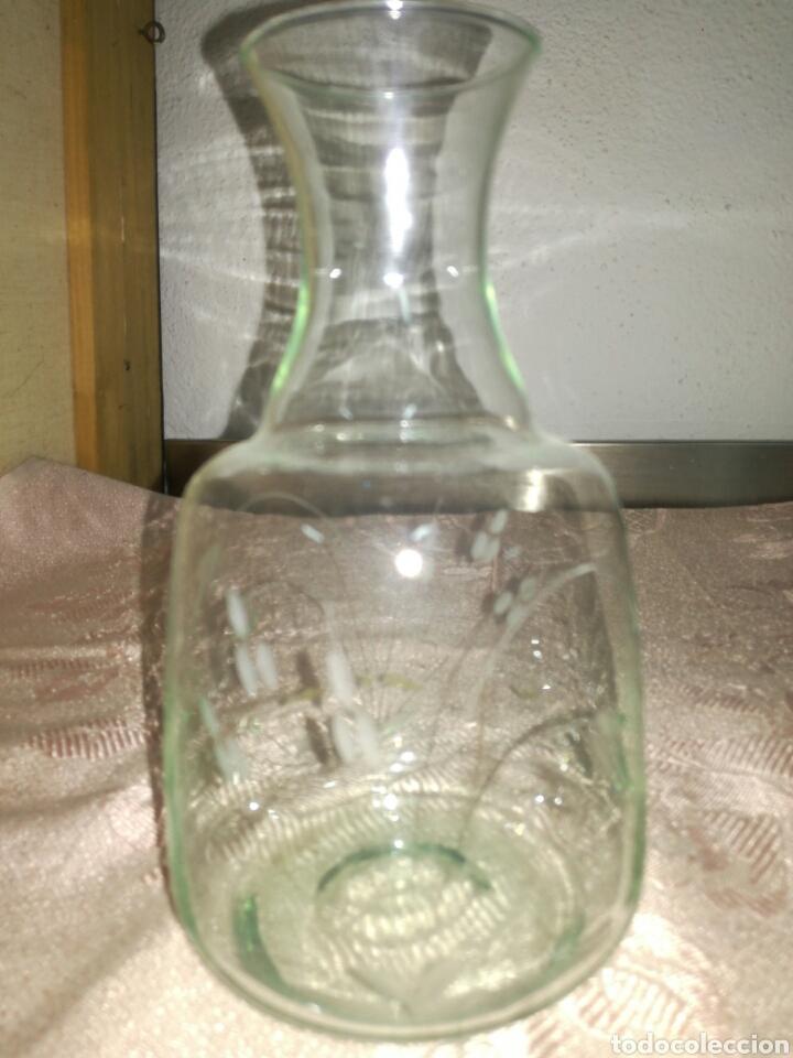 JARRON O BOTELLA DE MUY FINO CRISTAL (Antigüedades - Cristal y Vidrio - Otros)