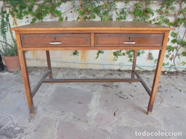 MESA ESCRITORIO ROBLE (Antiquitäten - Antike Möbel - Antike Sekretäre)