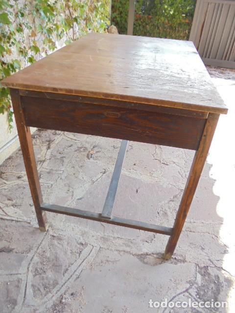 Antiquitäten: MESA ESCRITORIO ROBLE - Foto 3 - 145791900