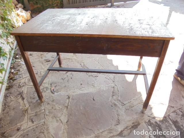 Antiquitäten: MESA ESCRITORIO ROBLE - Foto 4 - 145791900