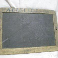 Antigüedades: ANTIGUA PIZARRA DE ESCRITURA. Lote 100261839